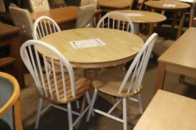 BRAND NEW Kentucky Ext Dining Table and 4 Chairs!!!!!!!