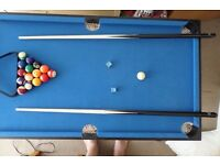 4 in 1 folding ,pool ,foosball,air hockey and table tennis table