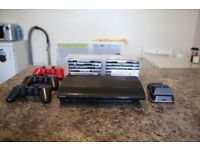 PS3 Ultra Slim 500GB (£120 ONO) EXCELLENT CONDITION - Includes 14 games, 3 controllers & Charger