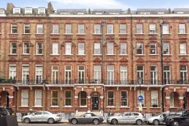 Nevern Square. Well-proportioned one double bedroom flat to rent.