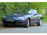 MAZDA MX5 mk 2.5 ,Good overall condition,11 months MOT ,recently serviced , 77900 miles ,£2200 ono