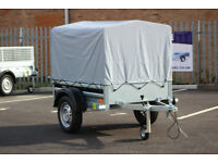 NEW Car trailer camping MARTZ 4'11 x 3'6ft 750kg 150cm x 106cm small 4.11ft x 3.6ft + top cover 80cm