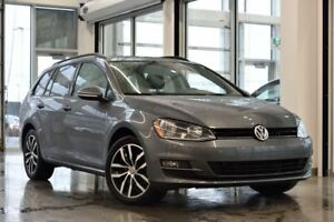 2017 Volkswagen Golf Sportwagon Comfortline 4motion / ENS. COMMO