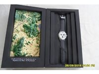 Souvenir Swatch watch from 2004 Athens Olympics, in box as new