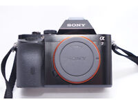 Sony A7 Full Frame 24MP camera body only with spare battery