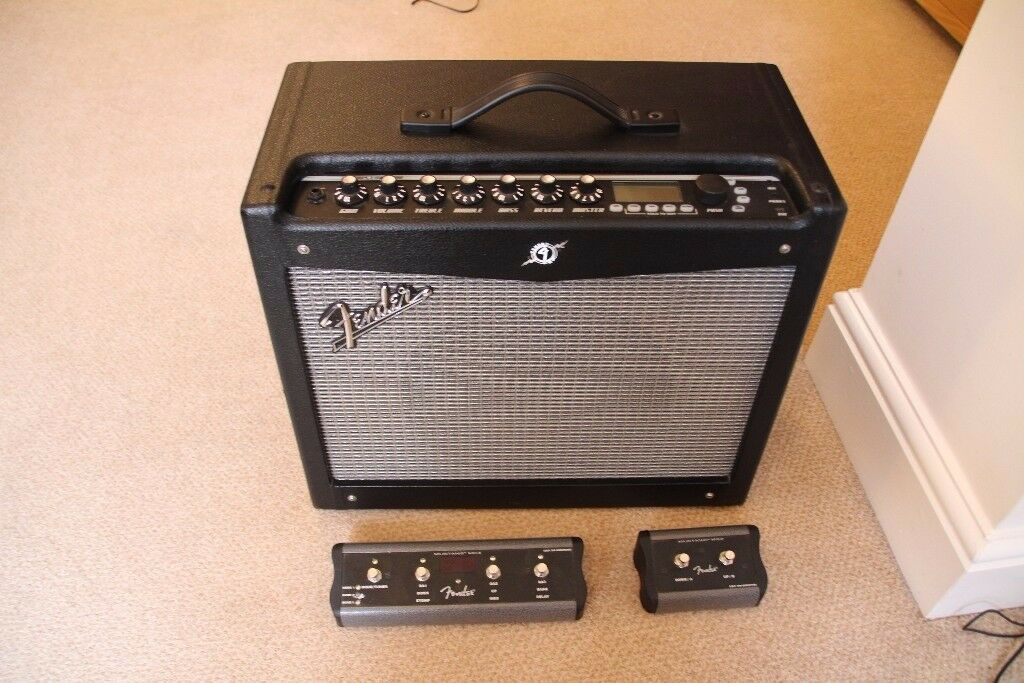 fender mustang iii v2 100w modeling amp combo with 2 and 4 button footswitches in newark. Black Bedroom Furniture Sets. Home Design Ideas