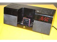 Logitech Pure-Fi Anytime iPod/iPhone Dock Alarm with remote control + ipod nano 6th gen. 8GB Bundle