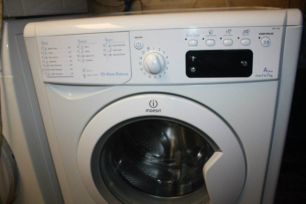 ✔ INDESIT 7KG WASHING MACHINE CLEAN & WORKING WITH WARRANTY FREE 🚐  DELIVERY WITHIN 10 MILES OF CB5   in Cambridge, Cambridgeshire   Gumtree