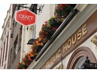 UK's Top Rated Beer Pub/Bar seeks new Assistant Manager