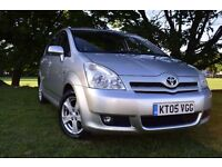 TOYOTA COROLLA VERSO D-4D DIESEL 7 SEATER T3 ***58K MILES**BRAND NEW CLUTCH***ONLY 58K ***