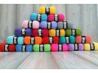 100g dk and Aran yarn