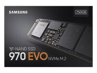 Samsung 970 EVO 250 GB V-NAND NVME M.2 2280 PCI Express Solid State Drive SSD NEW SEALED