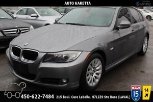 2009 BMW Série 3 323i, TOIT OUVRANT, BLUETOOTH, CUIR, A/C, MAGS