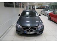 MERCEDES-BENZ E CLASS 2.1 E220 CDI BlueTEC AMG Night Edition 7G-Tronic Plus 4dr Auto (grey) 2015