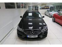 MERCEDES-BENZ E CLASS 2.1 E220 CDI BlueTEC AMG Night Edition 7G-Tronic Plus 5dr Auto (black) 2015