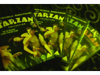 Tarzan collection dvd boxset (6 films stars Johnny weissmuller)