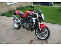 MV AGUSTA BRUTALE 750S Low mileage 1640 great condition.