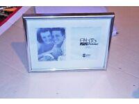 "Photo Frame (Silver) 3.5"" x 5"" {9 x 13cm}"