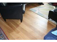 Oak flooring boards 7m2