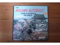 Box Set Madame Butterfly Bjoerling & De Los Angeles vinyl
