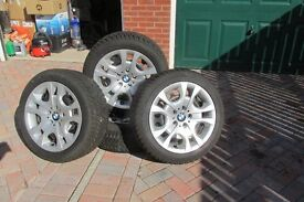 Set of winter tyres to fit BMW X1