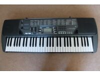 Casio Keyboard CTK 700 portable with 61 Full-Size keys, 100 Tones, 100 Rhythms 100 songs LCD Display