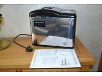 Morphy Richards Bread Maker 48220 series Stainless Steel breadmaker with Manual
