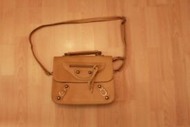 "Fashion Bag Brown - size 14.5""x12"" excluding handles"