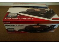 Ion Profile Pro convert vinyl records to MP3 (via USB connection)