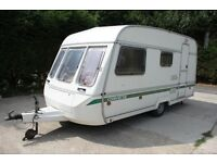 Swift Corvette 4 Berth Caravan + Full Bell Awning