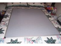 Bi Office Board, 1.2m ( 4ft ) x 0.9m ( 3ft ), New with Magnets, Can also be used with pins.