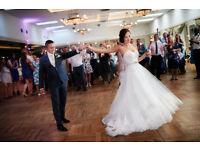 Designer Wedding Dress -Essence of Australia D1751 Ivory Lace on Ivory Tulle
