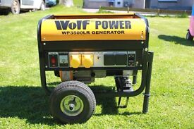 WOLF WP3500LR GENERATOR Now sold