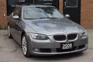 2008 BMW 3 Series 328xi AWD Coupe *NO ACCIDENTS,SPORTS PKG,125KM