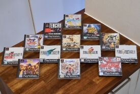 13 Collectable Sony Playstation PS1 Games inc Suikoden II + Wild Arms + FFVII