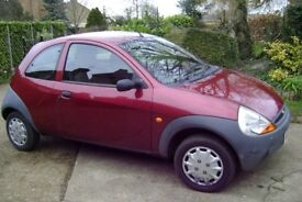 ford ka in red