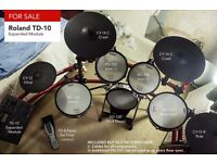 Roland Td-10 Expanded Module (Electronic Drum Kit)