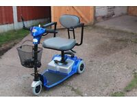 Days Strider portable mobility scooter for sale.