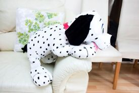 "28""/70cm Toy Factory Extra Large Soft Plush Spotty Dalmatian Dog Hug Toy Teddy"