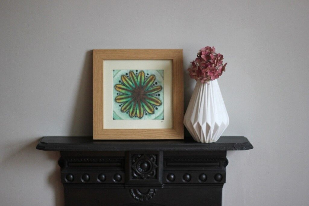Seed Pod Illustration! Gorgeous Original Artwork - Artist Painting, Illustration, Mothers Day Gift