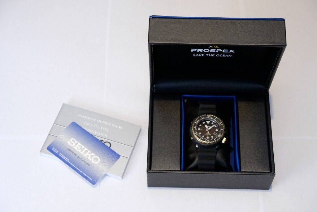 7145e3d95cb Seiko Prospex SNE498P1 solar powered diver s watch - brand new and boxed  (SNE498)