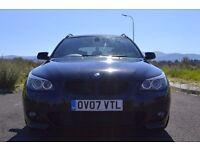 BMW 525d M SPORT 3,0 DIESEL Sat Nav Leather BLACK Privacy Glass