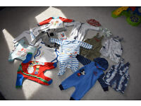 Baby boys bundle of clothes 3-6 months