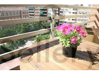 Great and sunny apartment for holidays for 7 in the centre of Castellon de la Plana (Spain)