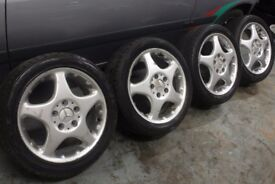 A RANGE OF ALLOY WHEELS CITREON FORD PEUGEOT VAUXHALL VW AUDI MERCEDES CLEARANCE