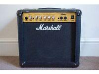 Marshall MG15CD Amplifier - 15-watt combo amp