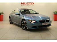 BMW 6 Series 3.0 635d Sport 2dr (blue) 2009