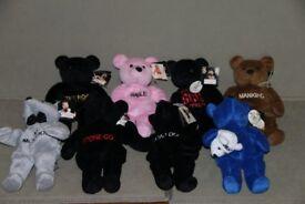 WWF Wrestling Beanie Bears