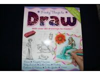 """Funky things to draw"" drawing book"