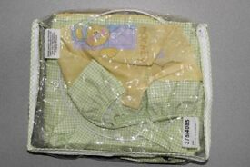 2 piece baby bedding set £10 (lampshade and padded cot bumper)